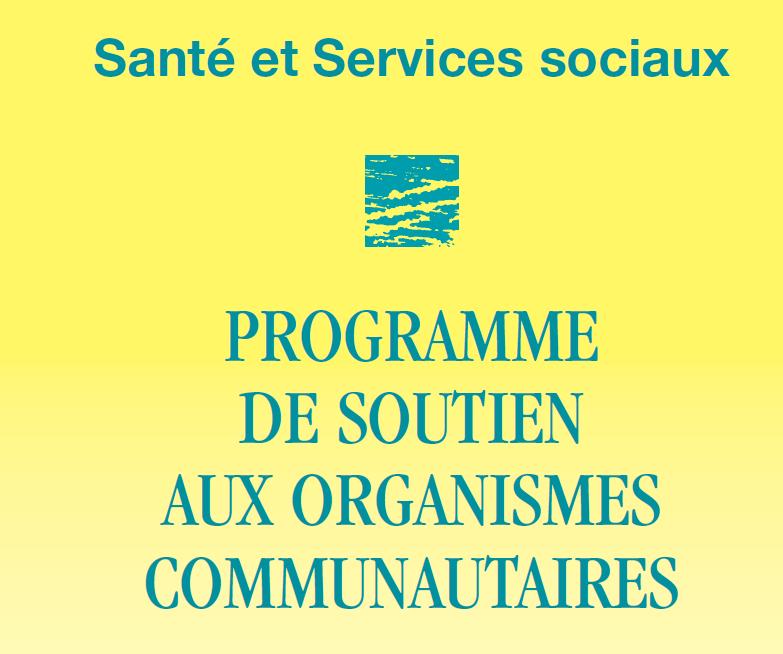 Programme de soutien aux organismes communautaires